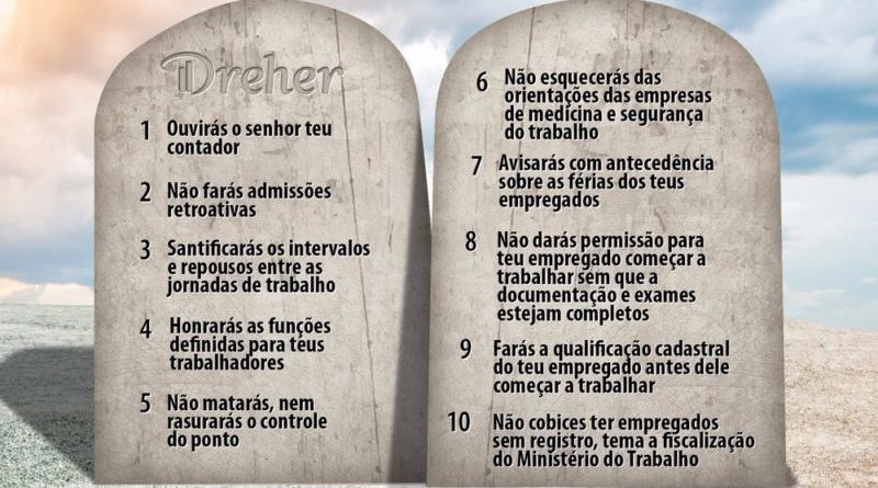 10 mandamentos do eSocial para empregadores