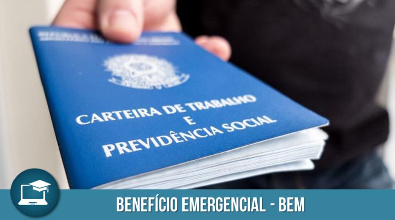 BEm - Benefício Emergencial - nova MP