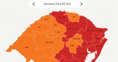Bandeira vermelha para região de Taquara a partir de 14 de julho